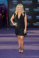 Emily Osment at the world premiere for &quot;Guardians of the Galaxy Vol. 2&quot; at the Dolby Theatre, Hollywood. <br /> Los Angeles, USA 19 April  2017<br /> Picture: Paul Smith/Featureflash/SilverHub 0208 004 5359 sales@silverhubmedia.com