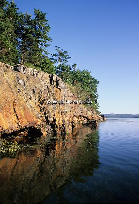 View of Sears Island, Searsport, Maine, USA