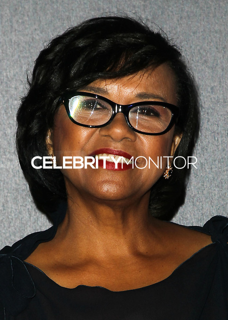 LOS ANGELES, CA, USA - DECEMBER 06: Cheryl Boone Isaacs arrives at The Music Center's 50th Anniversary Spectacular held at The Music Center - Dorothy Chandler Pavilion on December 6, 2014 in Los Angeles, California, United States. (Photo by Celebrity Monitor)