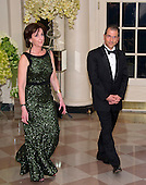 Roberta Jacobson, Assistant Secretary of State for Western Hemisphere Affairs, U .S. Department of State and Jonathan Jacobson arrive for the State Dinner in honor of Prime Minister Trudeau and Mrs. Sophie Gr&eacute;goire Trudeau of Canada at the White House in Washington, DC on Thursday, March 10, 2016.<br /> Credit: Ron Sachs / Pool via CNP