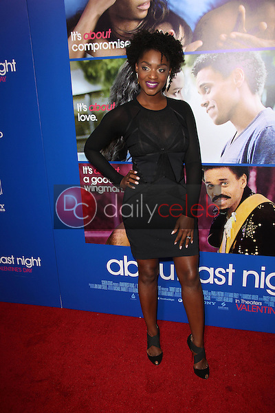 Yaani King<br /> at the &quot;About Last Night&quot; Los Angeles Premiere, Arclight, Hollywood, CA 02-11-14<br /> David Edwards/Dailyceleb.com 818-249-4998