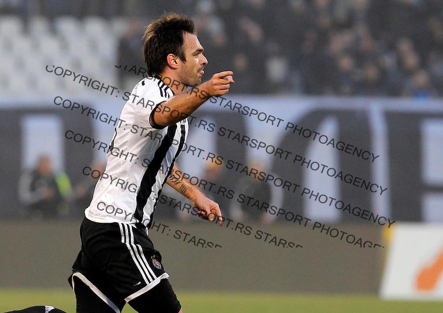 Nikola Drincic JSL Jelen super liga Srbije Partizan - Rad 14.3.2015.  Beograd, Srbija March 12.2015.  (credit image & photo: Pedja Milosavljevic / STARSPORT)