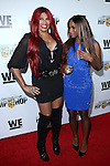 Sandra 'Pepa' Denton and Egypt Criss at WE TV's Growing Up Hip Hop Premiere Party Held at Haus