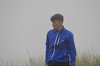Marc McKinstry (Cairndhu) on the 1st tee during Round 1 - Matchplay of the North of Ireland Championship at Royal Portrush Golf Club, Portrush, Co. Antrim on Wednesday 11th July 2018.<br /> Picture:  Thos Caffrey / Golffile