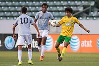Carson, California - Saturday, July 19, 2014: The Players Development Academy defeated Bethesda-Olney 2-0 to win the 2013-14 Development Academy U-17/18 Championship at StubHub Center.