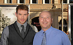"HOLLYWOOD, CA. - July 13: Kellan Lutz and his father arrive to the ""Inception"" Los Angeles Premiere at Grauman's Chinese Theatre on July 13, 2010 in Hollywood, California."