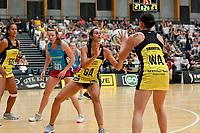 Pulse' Ameliaranne Ekenasio in action during the  Preseason Tournament - Pulse v Steel at Ngā Purapura, Otaki, New Zealand on Sunday 10 February  2019. <br /> Photo by Masanori Udagawa. <br /> www.photowellington.photoshelter.com