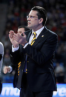 Herbalife Gran Canaria's coach Pedro Martinez during Spanish Basketball King's Cup match.February 07,2013. (ALTERPHOTOS/Acero) /NortePhoto