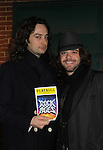 "Bold and The Beautiful Constantine Maroulis ""Drew"" and Patrick Lewallen ""Lenny"" star in the touring production of Rock of Ages as ""Drew"" (Constantine starred in Rock of Ages from the beginning when it was off Broadway and then in the Broadway cast) on December 4, 2010 at the Hippodrome Theatre, Baltimore, Maryland. (Photo by Sue Coflin/Max Photos)"
