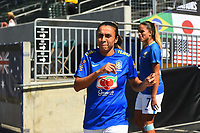 Carson, CA - Thursday August 03, 2017: Marta prior to a 2017 Tournament of Nations match between the women's national teams of Australia (AUS) and Brazil (BRA) at the StubHub Center.