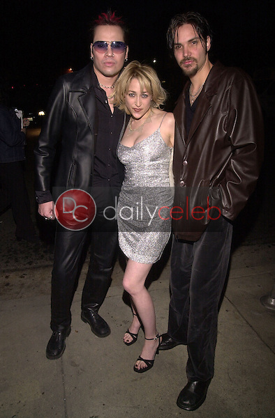 Jennifer Blanc, Dave Aragon and Felix Brenner