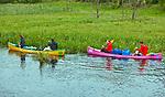 Splyw kajakowy po rzece Krutyni