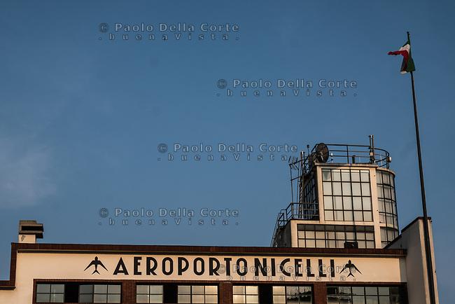 Venezia - Il Lido. L' Aeroporto Nicelli, al terzo posto nella classifica BBC tra i dieci aeroporti più belli del mondo.