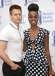 Denee Benton and boyfroiend attends the 73rd Annual Theatre World Awards at The Imperial Theatre on June 5, 2017 in New York City.