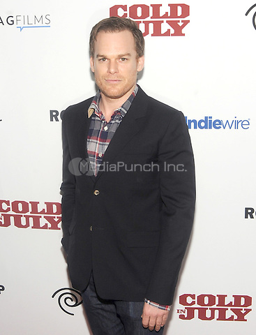"New York, NY- May 21: Michael C. Hall attends the Rooftop films ""Cold In July"" New York screening at IFC Theater on May 21, 2014 in New York City. Credit: John Palmer/MediaPunch"