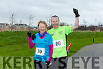 participants who took part in the Kerry's Eye Valentines Weekend 10 mile road race on Sunday were Mary Donnelly and Timmy Donnelly