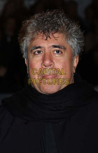 PEDRO ALMODOVAR.Bafta Awards - British Academy Awards at Odeon Leicester Square.15 February 2004.portrait, headshot, tongue.www.capitalpictures.com.sales@capitalpictures.com.©Capital Pictures