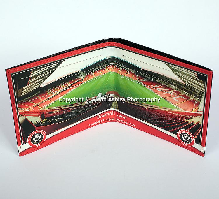 Sheffield United Merchandise. Photo by Glenn Ashley.