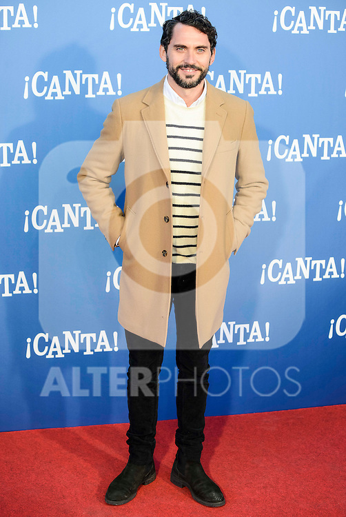 "Paco Leon attends to the premiere of the film ""¡Canta!"" at Cines Capitol in Madrid, Spain. December 18, 2016. (ALTERPHOTOS/BorjaB.Hojas)"