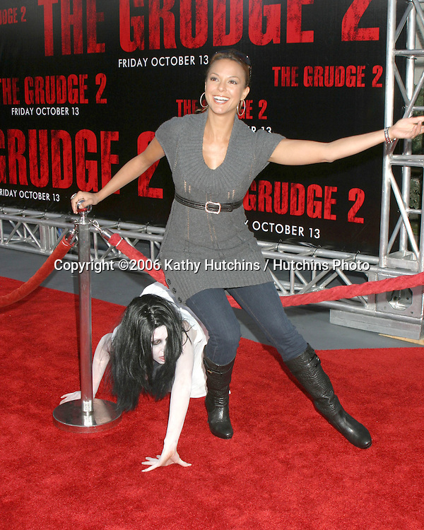 Eva La Rue.Grudge 2 Premiere.Knotts Berry Farm .Buena Park , CA.October 8 , 2006.©2006 Kathy Hutchins / Hutchins Photo....