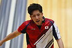 € Shusaku Asato (JPN), <br /> AUGUST 23, 2018 - Bowling : <br /> Men's Trios Block 2 <br /> at Jakabaring Sport Center Bowling Center <br /> during the 2018 Jakarta Palembang Asian Games <br /> in Palembang, Indonesia. <br /> (Photo by Yohei Osada/AFLO SPORT)
