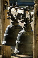 "Asie/Birmanie/Myanmar/Bagan: Pagode ""Ananda"" - Les cloches"