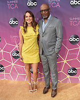 05 August 2019 - West Hollywood, California - Camilla Luddington, James Pickens, Jr.. ABC's TCA Summer Press Tour Carpet Event held at Soho House.   <br /> CAP/ADM/BB<br /> ©BB/ADM/Capital Pictures