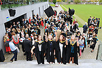 23/10/2015  Pictured at the recent Mary Immaculate College conferring ceremonies were Cliona Twohig, Cork City, Kerry Campbell, Newross, Co. Wexford, Amy Coleman, Abbeyknockmoy, Co. Galway and Jennifer Hodgins, Ballingarry, North Tipperary, who all graduated with a BA in Early Childhood Care and Education. 625 students from 20 counties and 3 continents were conferred with academic awards across the College&rsquo;s 27 programmes including the College&rsquo;s 100th PhD award.<br /> Pic: Gareth Williams / Press 22