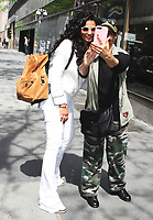 NEW YORK, NY - MAY 7: Camila Alves seen after an appearance on NBC's Today Show on May 7, 2018 in New York City. Credit: RW/MediaPunch