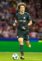 Chelsea FC's David Luiz during Champions League 2017/2018, Group C, match 2. September 27,2017. (ALTERPHOTOS/Acero)<br /> Champions League 2017/2018 <br /> Atletico Madrid - Chelsea <br /> Foto Alterphotos / Insidefoto