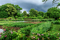France, Sarthe (72), Le Lude, château et jardins du Lude, le potager