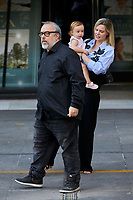 Alex de la Iglesia and Carolina Bang attends to 'En Las Estrellas' photocall at Plaza de los Cubos in Madrid, Spain. August 30, 2018. (ALTERPHOTOS/A. Perez Meca) /NortePhoto NORTEPHOTOMEXICO