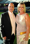 Brad Mills and his wife Rhonda at the Astros Wives' Gala at Minute Maid Park Thursday Aug. 16, 2012.(Dave Rossman/For the Chronicle)