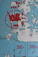 Rotten abandoned russian secret military city in the former GDR.<br /> 10.5.2014<br /> Copyright: Christian-Ditsch.de<br /> [Inhaltsveraendernde Manipulation des Fotos nur nach ausdruecklicher Genehmigung des Fotografen. Vereinbarungen ueber Abtretung von Persoenlichkeitsrechten/Model Release der abgebildeten Person/Personen liegen nicht vor. NO MODEL RELEASE! Don't publish without copyright Christian Ditsch/version-foto.de, Veroeffentlichung nur mit Fotografennennung, sowie gegen Honorar, MwSt. und Beleg. Konto: I N G - D i B a, IBAN DE58500105175400192269, BIC INGDDEFFXXX, Kontakt: post@christian-ditsch.de]