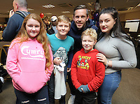 Pictured: Gylfi Sigurdsson Tuesday 06 December 2016<br />Re: Swansea City FC Christmas Party at the Liberty Stadium, Wales, UK