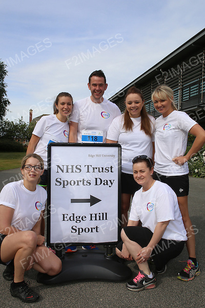 NHS North West Games Edge Hill University Ormskirk. 5.7.15