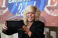 American Idol Ex-Finalistin Kimberly Caldwell<br /> Super Bowl XLIV Media Day, Sun Life Stadium *** Local Caption *** Foto ist honorarpflichtig! zzgl. gesetzl. MwSt. Auf Anfrage in hoeherer Qualitaet/Aufloesung. Belegexemplar an: Marc Schueler, Alte Weinstrasse 1, 61352 Bad Homburg, Tel. +49 (0) 151 11 65 49 88, www.gameday-mediaservices.de. Email: marc.schueler@gameday-mediaservices.de, Bankverbindung: Volksbank Bergstrasse, Kto.: 52137306, BLZ: 50890000