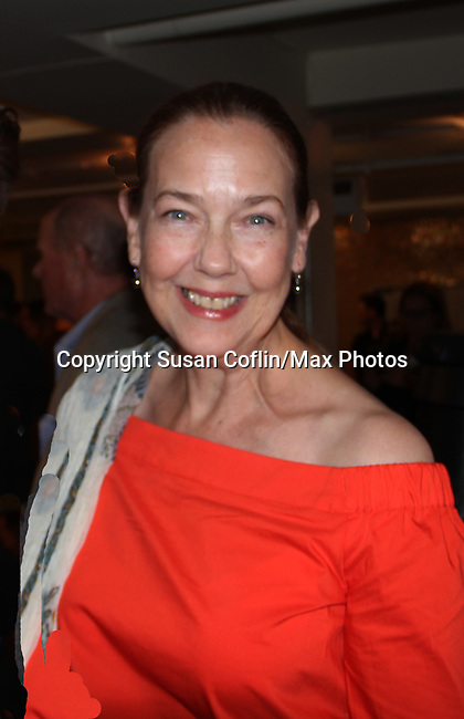 Harriet Harris at The Crusade of Connor Stephens - One Family Under God, Divisible. on opening night at Jerry Orbach Theatre at the Snapple Theatre Center, New York City, New York on June 26, 2017. (Photo by Sue Coflin/Max Photos)