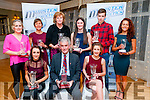 Munster Athletics Star Awards: The Kerry winners at the Munster Athletics Star Awards ceremony at the Listowel Arms Hotel  on Saturday last. Front : Shona Heaslip, An Riocht A.C., Jerry Kiernan, Listowel & Clonliffe Harriers, Hall of Fame Award & Sasha Brent, Lios Tuathail A.C., Back: Marie McCarthy, Farranfore Maine Valley A.C., Niamh O'Sullivan, An Riocht A.C., Shelia O'Donoghue, Gneeveguilla A.C., Fiona Doyle, Star of the Laune A.C., Darragh Courtney, St. Brendan's A.C. & Grace Lynch, Iveragh A.C.