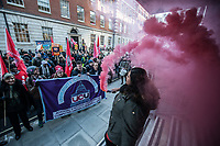 UCU & IWGB strike & march together 4-12-19