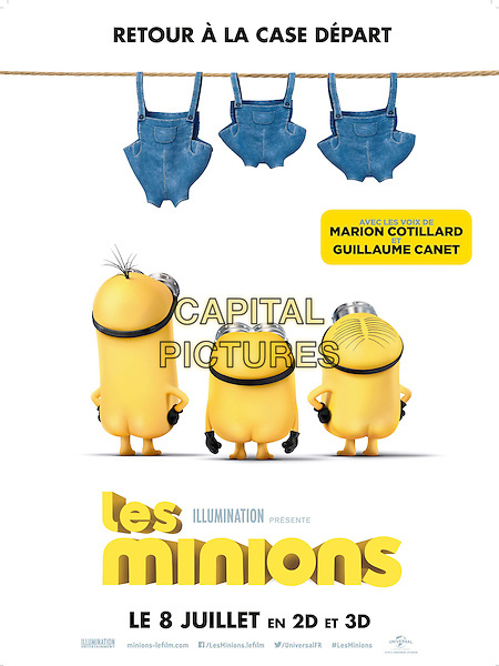 POSTER ART<br /> in Minions (2015)<br /> *Filmstill - Editorial Use Only*<br /> CAP/NFS<br /> Image supplied by Capital Pictures