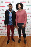 Lakeith Stanfield and Daveed Diggs attends The Children's Monologues at Carnegie Hall on November 13, 2017 in New York City.