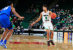 DENTON TEXAS, January 26: University of North Texas Mean Green Men's Basketball v Middle Tennessee State University at the Super Pit in Denton on January 26, 2019 (Photo Rick Yeatts Photography/Colin Mitchell)