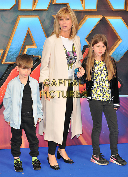 Kate Garraway and kids at the &quot;Guardians of The Galaxy Vol. 2&quot; European gala film premiere, Hammersmith Apollo (Eventim Apollo), Queen Caroline Street, London, England, UK, on Monday 24 April 2017.<br /> CAP/CAN<br /> &copy;CAN/Capital Pictures