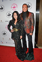 BEVERLY HILLS, CA. October 8, 2016: Nick Chavez &amp; Apollonia Kotero at the 2016 Carousel of Hope Ball at the Beverly Hilton Hotel.<br /> Picture: Paul Smith/Featureflash/SilverHub 0208 004 5359/ 07711 972644 Editors@silverhubmedia.com