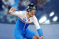 Callum Skinner of Scotland wins bronze in the Men's 1000m Time Trial. Gold Coast 2018 Commonwealth Games, Track Cycling, Anna Meares Velodrome, Brisbane, Australia. 8 April 2018 © Copyright Photo: Anthony Au-Yeung / www.photosport.nz /SWpix.com