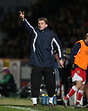 Stevenage manager Graham Westley gives orders during the Blue Square Premier match between Stevenage Borough and Oxford United at the Lamex Stadium, Broadhall Way, Stevenage on Saturday 27th March, 2010..© Kevin Coleman 2010 .