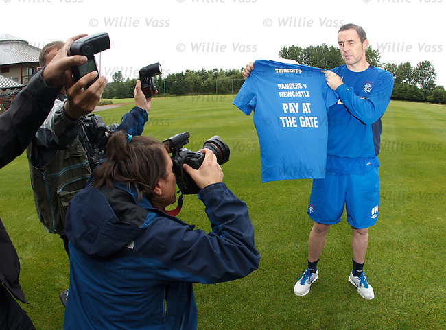 David Weir promotes the Newcastle Utd pre season friendly