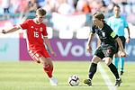 08.06.2019., stadium Gradski vrt, Osijek - UEFA Euro 2020 Qualifying, Group E, Croatia vs. Wales.  David Brooks, Luka Modric. <br /> <br /> Foto © nordphoto / Goran Stanzl/PIXSELL