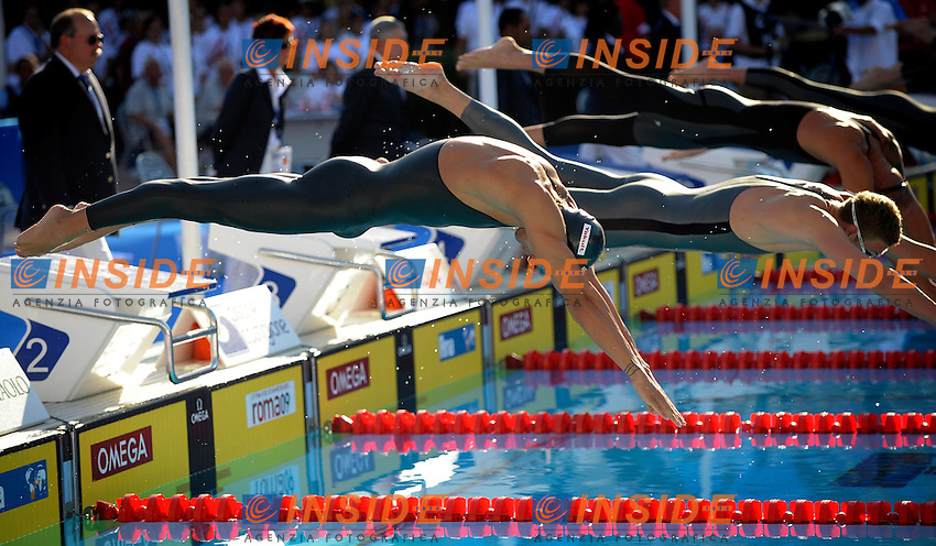 Roma 29th July 2009 - 13th Fina World Championships From 17th to 2nd August 2009....Swimming semifinals..Men's 100m freestyle..Filippo Magnini (ITA)....photo: Roma2009.com/InsideFoto/SeaSee.com